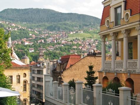 Сараево, столицата на Босна и Херцеговина