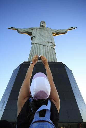 Статуята на Христос Спасителя в Рио де Жанейро, Бразилия
